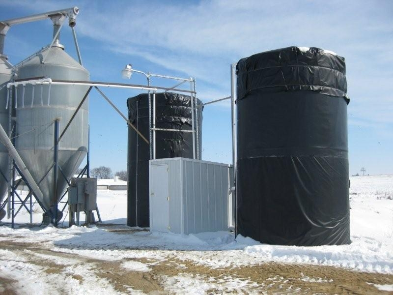 Dairy Cheese Silo Tank